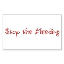Stop the Bleeding Decal