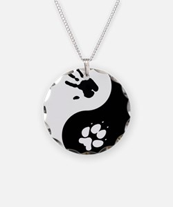 Coyote Therian Ying Yang Necklace