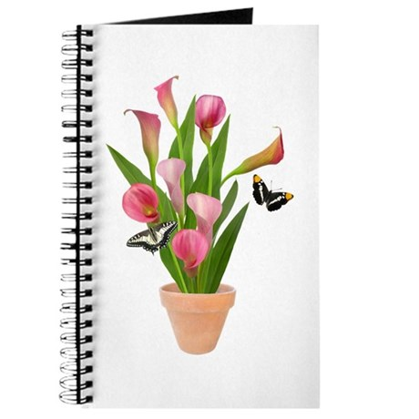 Calla Lily Butterfly Journal
