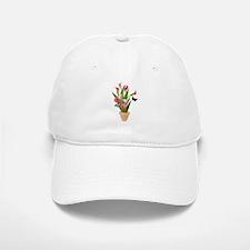 Calla Lily Butterfly Baseball Baseball Cap