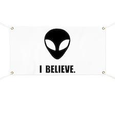 I Believe In Aliens Banner