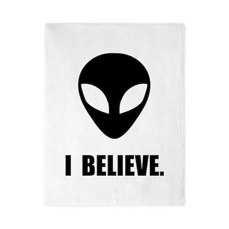 I Believe In Aliens Twin Duvet