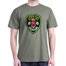 Lithuanian Scout Badge T-Shirt