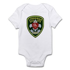 Lithuanian Scout Badge Infant Bodysuit
