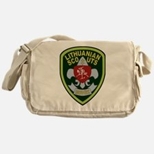 Lithuanian Scout Badge Messenger Bag