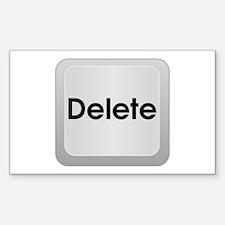 Keyboard Delete Key Decal