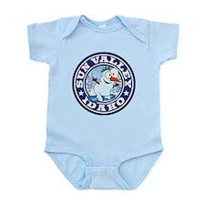Sun Valley Snowman Circle Infant Bodysuit