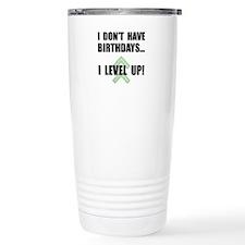 Level Up Birthday Travel Coffee Mug