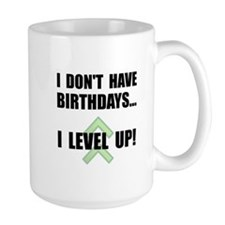 Level Up Birthday Mug