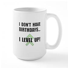 Level Up Birthday Mug
