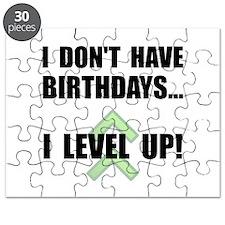 Level Up Birthday Puzzle