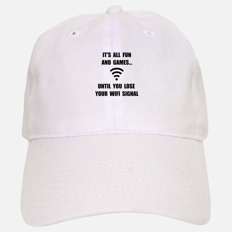 Lose Your WiFi Baseball Baseball Cap
