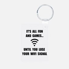 Lose Your WiFi Keychains