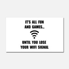 Lose Your WiFi Car Magnet 20 x 12