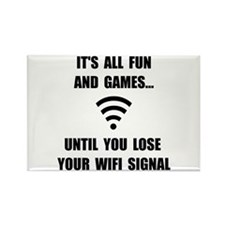 Lose Your WiFi Rectangle Magnet (10 pack)