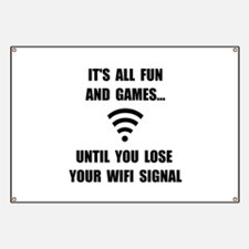 Lose Your WiFi Banner
