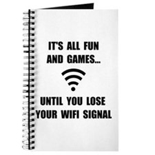 Lose Your WiFi Journal