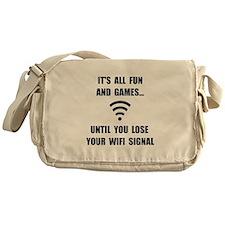 Lose Your WiFi Messenger Bag