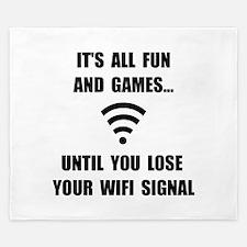 Lose Your WiFi King Duvet