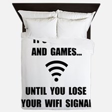 Lose Your WiFi Queen Duvet