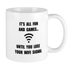 Lose Your WiFi Mug