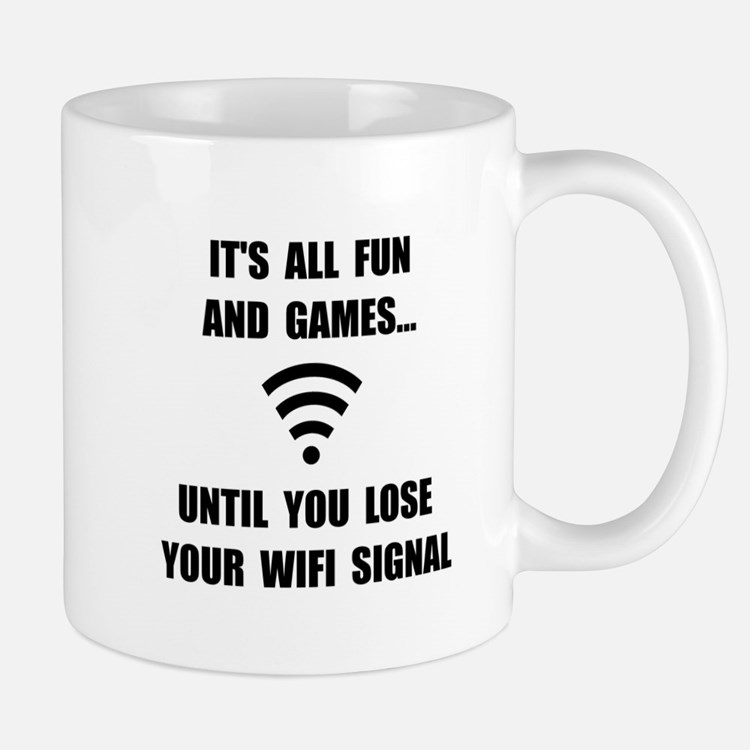 Lose Your WiFi Mug