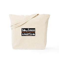 Lawless America Movie Logo Tote Bag