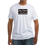 Lawless America Movie Logo Fitted T-Shirt