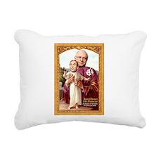 Saint Cheney Rectangular Canvas Pillow