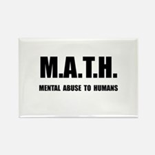 Math Abuse Rectangle Magnet (10 pack)