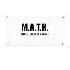 Math Abuse Banner