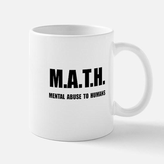 Math Abuse Mug