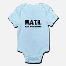 Math Abuse Infant Bodysuit