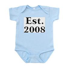 Est. 2008 Infant Creeper
