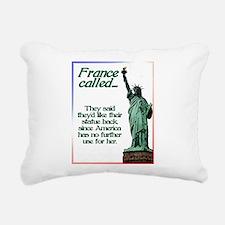 France Called Rectangular Canvas Pillow