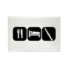 Eat Sleep Clarinet Rectangle Magnet