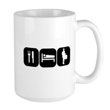 Eat Sleep Drumline Mug