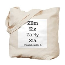 Zander Smith Tote Bag