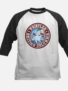 Whistler Snowman Circle Tee