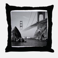 GOLDEN GATE FOG * Throw Pillow