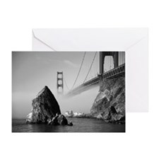 GOLDEN GATE FOG * Greeting Card