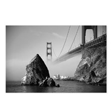 GOLDEN GATE FOG * Postcards (Package of 8)