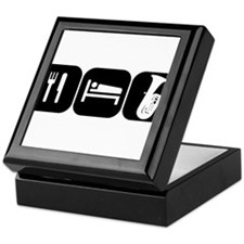 Eat Sleep Tuba Keepsake Box
