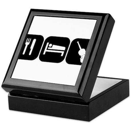 Eat Sleep Viola Keepsake Box