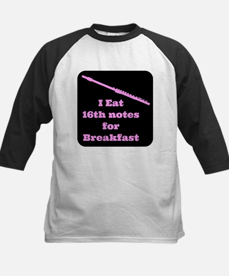 Flute I eat 16th notes for Breakfast Tee