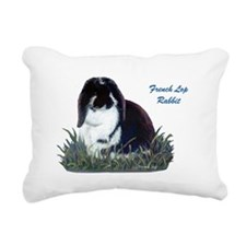 French Lop Rabbit Rectangular Canvas Pillow