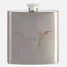 cheerful hummingbird Flask