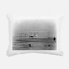 Wright Brothers First Flight Rectangular Canvas Pi