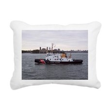 NY Harbor Rectangular Canvas Pillow