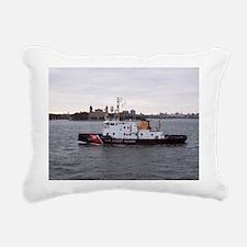 NY Harbor Rectangular Canvas Pillow